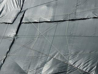 Canvas Prints Textures canvas cover at construction site