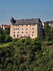 Burg Schadeck in Runkel an der Lahn in Hessen, Deutschland