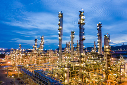 manufacturing and storage facilities oil and gas refineries products for sales and export international shipping frighted transportation open sea