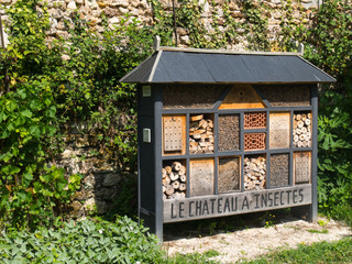 Maison des insectes Wall mural