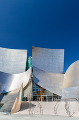 Walt Disney Concert Hall Vertical Image