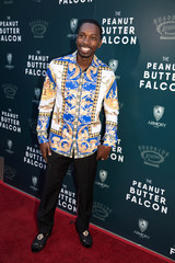 Red carpet arrivals for the screening of the film The Peanut Butter Falcon in Los Angeles