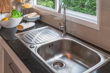modern kitchen room