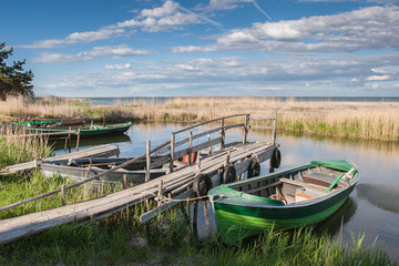 Land and seascape in the Lulea Archipelago, northern Sweden, Scandinavia