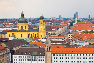 Munich Germany city skyline