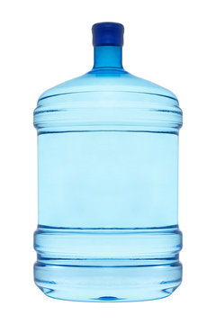 A large bottle for drinking water