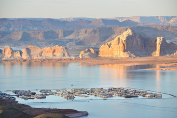 lake powell in utah southwest usa