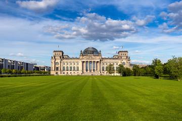 German parliament (Reichstag) building in Berlin