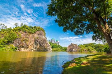 Little Guilin in Bukit Batok Park - Singapore