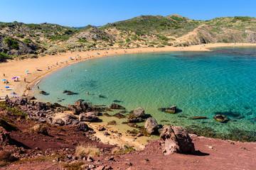 Minorca spiaggia di Cavalleria - Playa de Cavaleria Mercadal