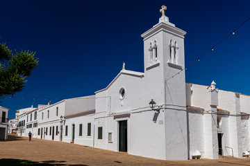 Minorca chiesa di Fornells