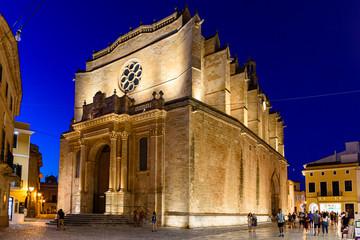 Minorca, chiesa di Mahon