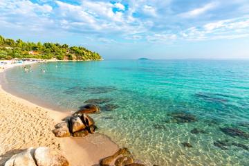 Akti Koviou beach on Sithonia, Chalkidiki, Greece