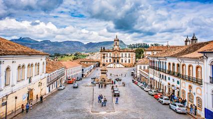 Foto op Canvas Brazilië Ouro Preto