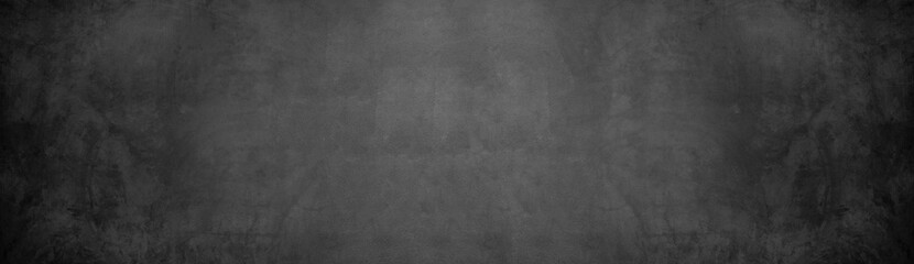 black cement wall and dark grunge concrete wallpaper background Fototapete