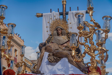 Fototapete - imágenes de la semana santa de Sevilla, hermandad del Baratillo