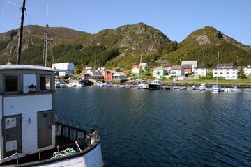 Hafen von Runde auf der Vogelinsel