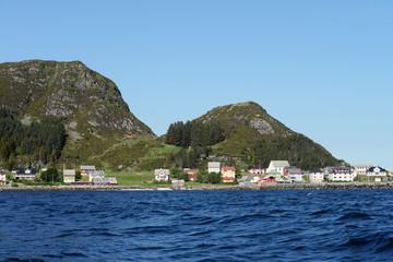 Ortschaft Runde auf der Vogelinsel in Norwegen