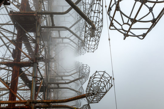 Duga Antenna Complex in Chernobyl Exclusion zone 2019