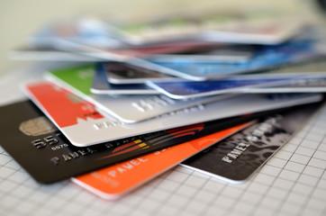 Karty kredytowe i płatność internetowa - fototapety na wymiar
