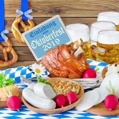 German Invitation to Bavarian October Festival