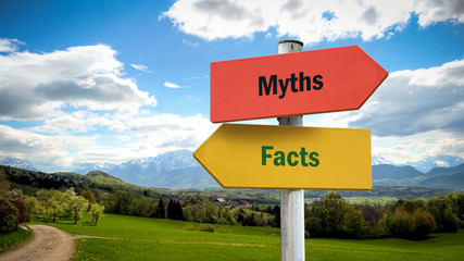 Street Sign to Facts versus Myths