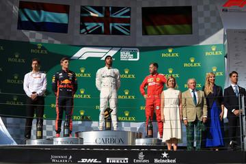 2019 F1 Rolex Hungary Grand Prix Race Day 4th Aug