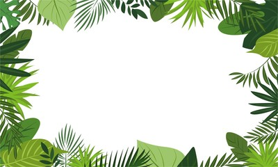 Fresh rainforest concept banner. Cartoon illustration of fresh rainforest vector concept banner for web design