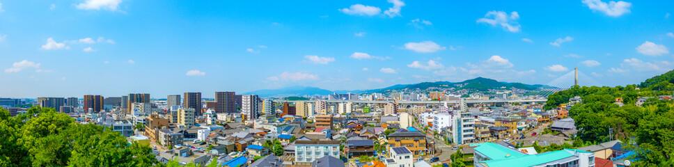 都市風景 兵庫県 川西市