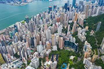 High-rise buildings in Hong Kong