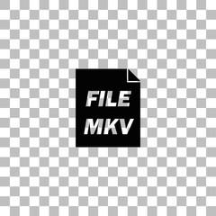 MKV icon flat