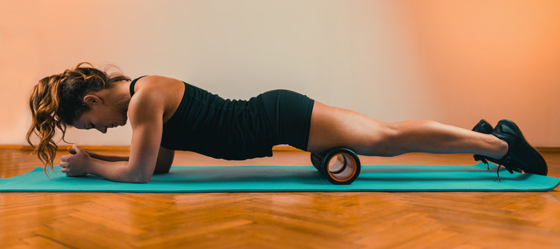 Foam Roller Quadriceps Massage