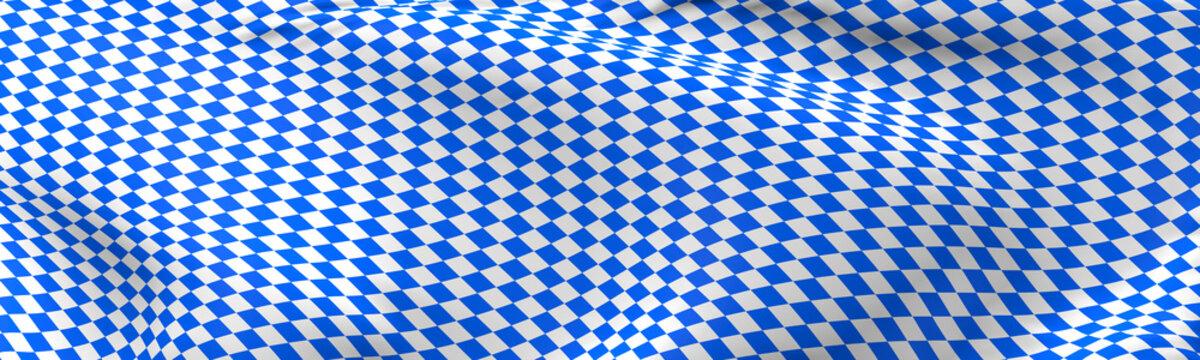 Bavarian flag using as background