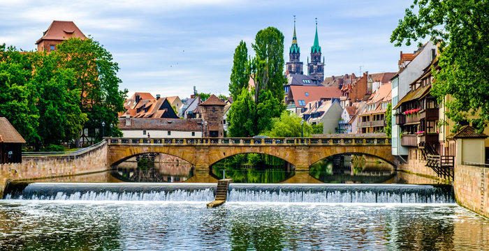 nuremberg - famous old town