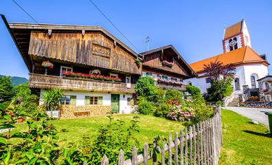 old bavarian farmhouse