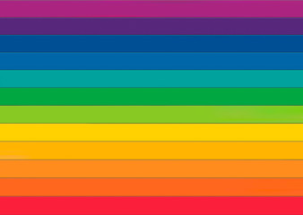 Rainbow colored pattern, seamless texture illustration. Wall mural