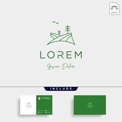 free Landscape Logo design for landscaping icon