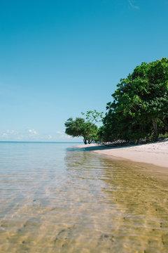 Ponta do Muretá, river beach in Alter do Chão, Brazil