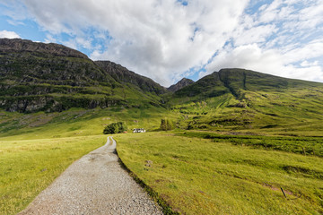 Glencoe Valley, The Highlands, Scotland, United Kingdom