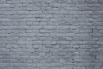 Light bluish grey brick wall texture background