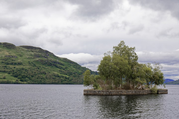 Loch Katrine, Loch Lomond & The Trossachs National Park, Scotland, UK