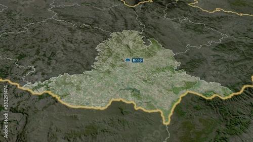 Jihomoravský - region of Czech Republic with its capital ... on satellite map of saipan, satellite map of mali, satellite map of vatican city, satellite map of brunei darussalam, satellite map of prague, satellite map of abu dhabi, satellite map of the gambia, satellite map of montserrat, satellite map of caribbean islands, satellite map of the vatican, satellite map of mauritania, satellite map of iraq, satellite map of united states of america, satellite map of tunisia, satellite map of kosovo, satellite map of western europe, satellite map of qatar, satellite map of uzbekistan, satellite map of trinidad and tobago, satellite map of somalia,