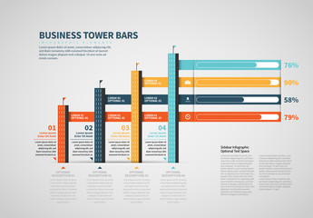 Corporate Tower Bars Info Chart
