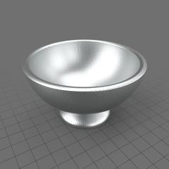 Modern punch bowl