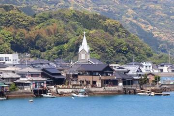 世界遺産 崎津集落の風景