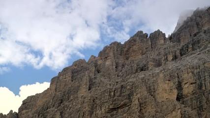 Wall Mural - Cime di Lavaredo Mountain Range in Italian  Dolomites. Misurina, Italy.