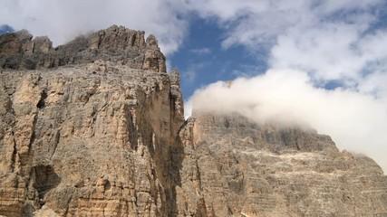 Wall Mural - Scenic Cime di Lavaredo Mountain Range in Misurina, Italy.