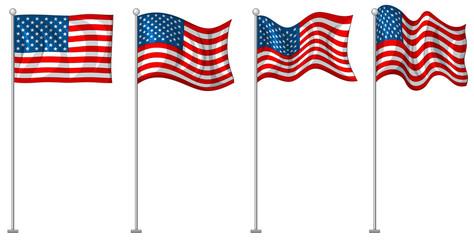 Flag design of America