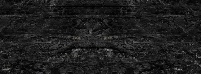 Obraz Dark texture of black color. - fototapety do salonu