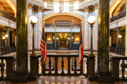 Interior of the Mississippi State Capitol Building